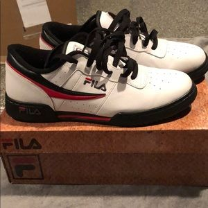 Filas OG Original Fitness white/black like new